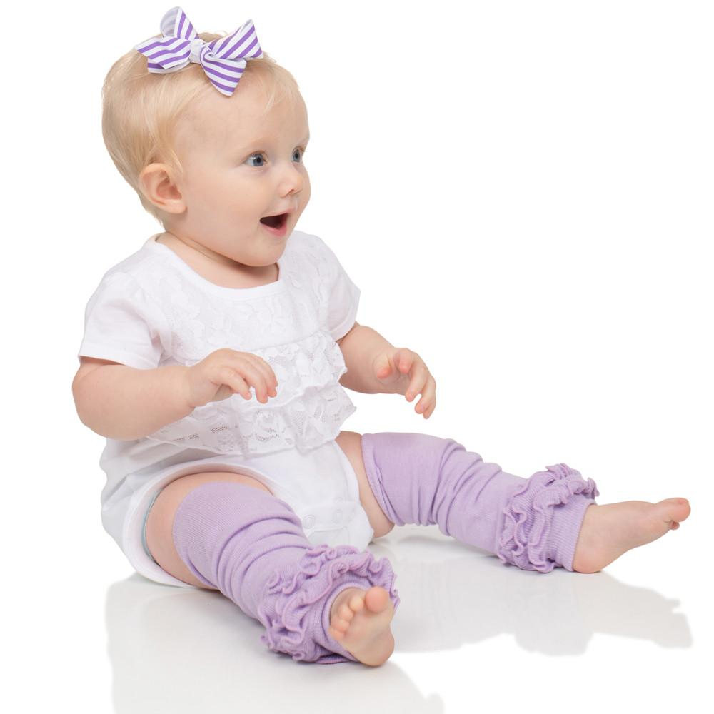 juDanzy ruffled leg warmers for baby or toddler girls