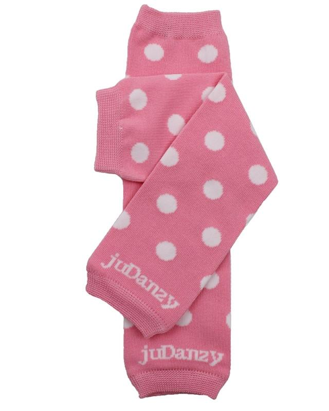 Candy Dot Organic Leg Warmers (newborn)
