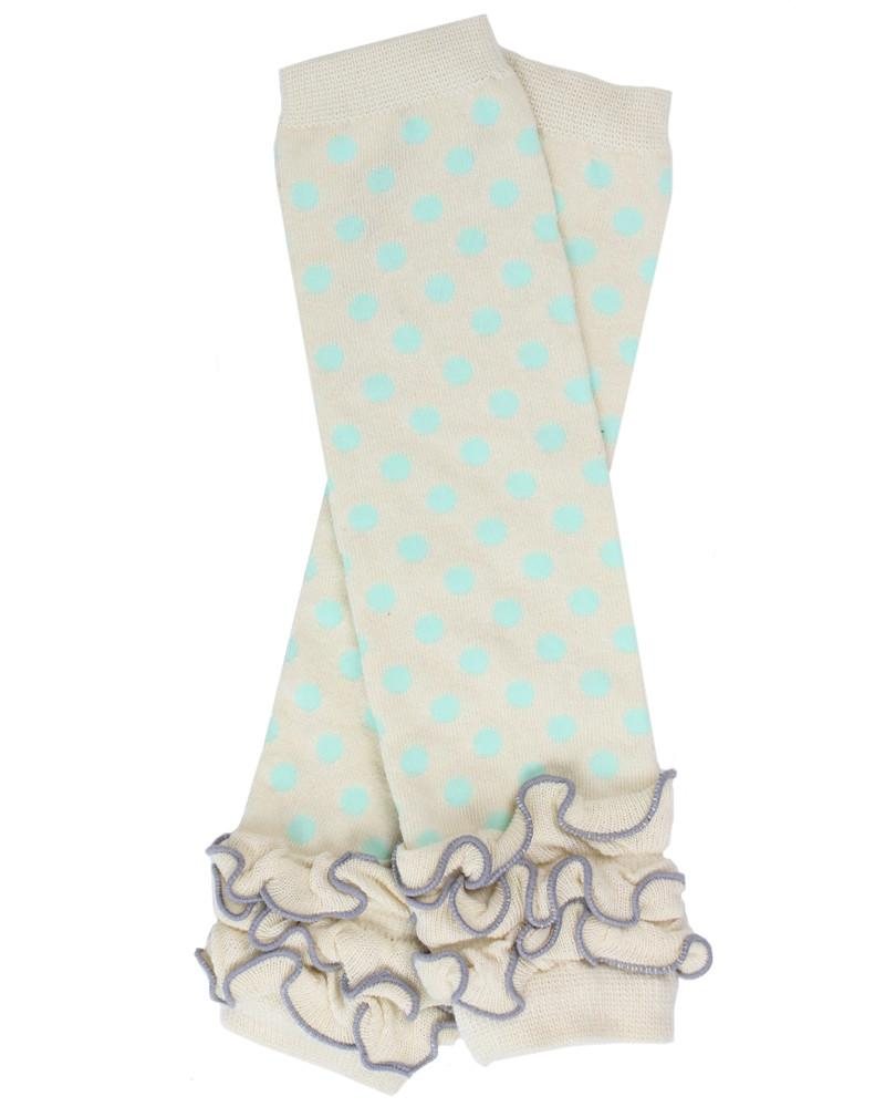 Dazzle Dot Leg Warmers (newborn)