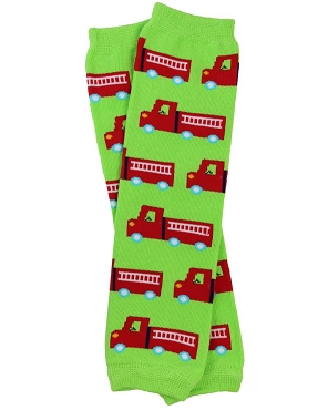 Fire Truck Leg Warmers (newborn)