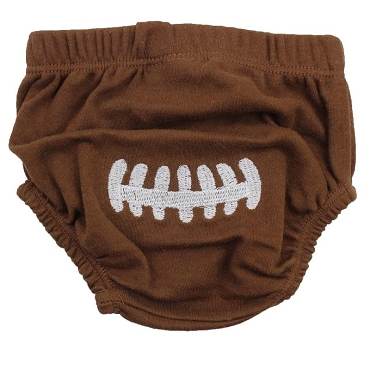 Football Diaper Cover
