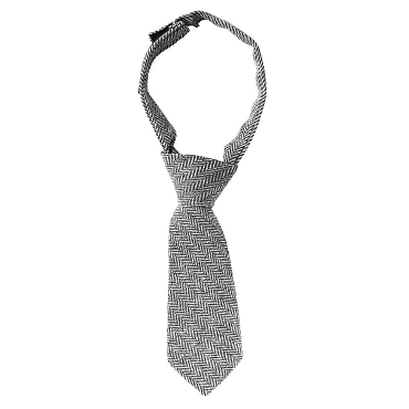 Gray Tweed Neck Tie