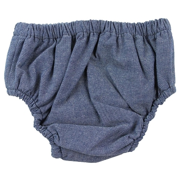 Jean Chambray Diaper Cover