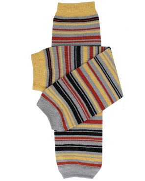 Knight Stripe Leg Warmers