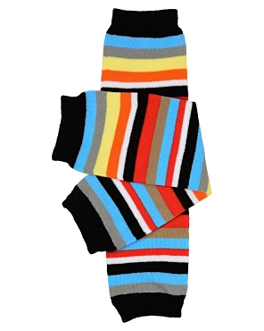 Michael Stripe Leg Warmers (newborn)