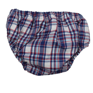 Nautical Plaid Diaper Cover