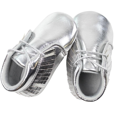 Silver Moccasins