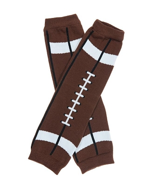 Brown Football Leg Warmers