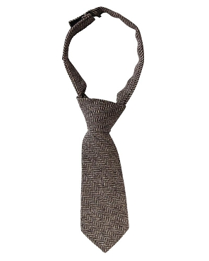 Brown Tweed Neck Tie