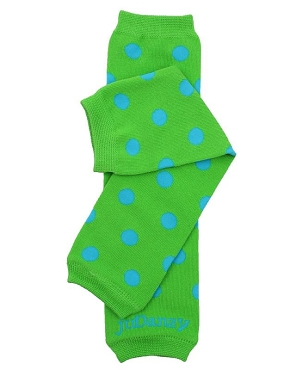 Dapper Dot Organic Leg Warmers