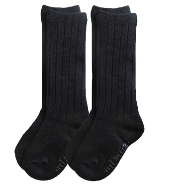 Black Wool Socks