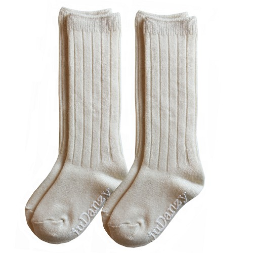 Cream Wool Socks