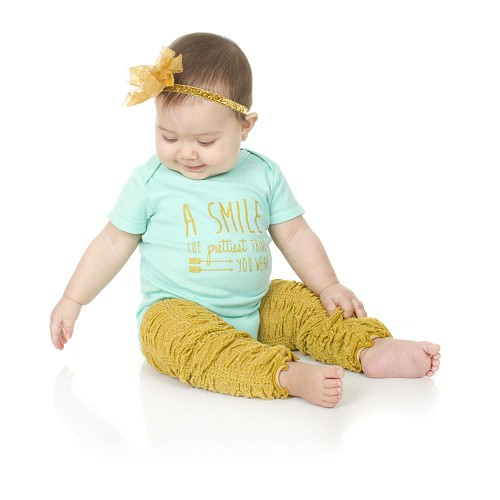 Glitter Gold Rouched Leg Warmers