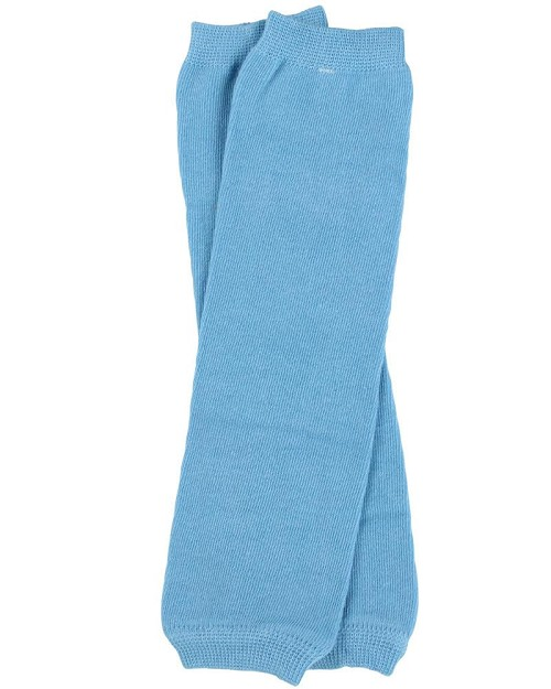 Solid Blue Leg Warmers (newborn)