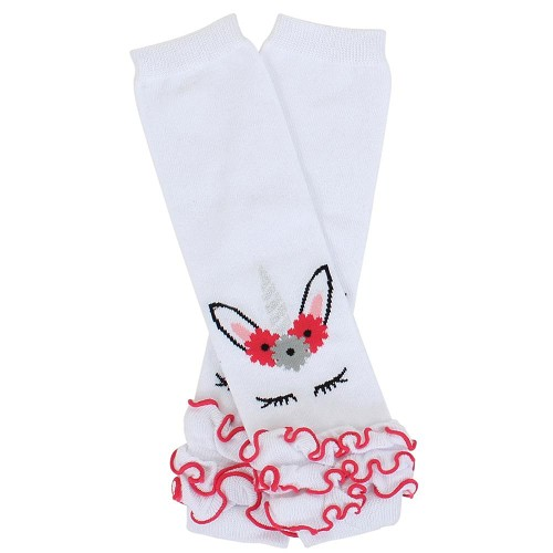 Unicorn Triple Ruffle Leg Warmers