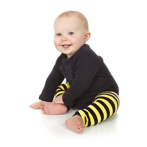 Bee Stripe Leg Warmers