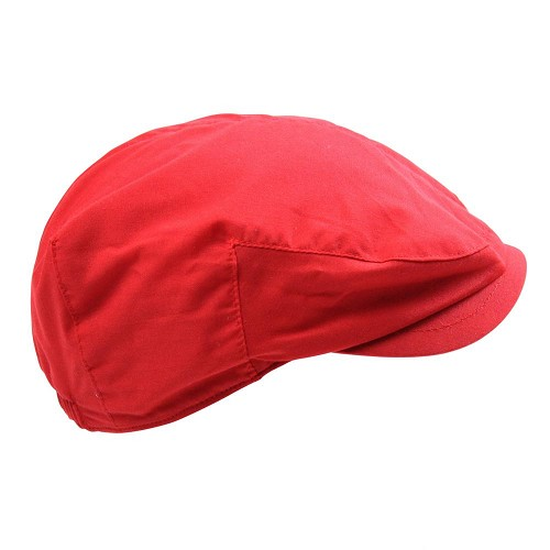 Classic Red Cabbie Hat
